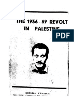 The Arab Revolt 1936-1937 - Ghassan Kanafani
