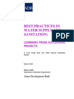 Best Practices in Water Supply and Sanitation