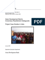 Asian Development Bank's Involuntary Resettlement Safeguards Project Case Studies in India