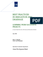 Best Practices in Irrigation and Drainage