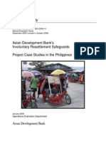 Asian Development Bank's Involuntary Resettlement Safeguards Project Case Studies in the Philippines