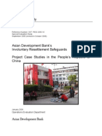 Asian Development Bank's Involuntary Resettlement Safeguards Project Case Studies in the People's Republic of China