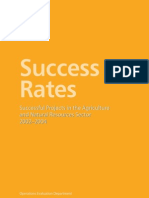Success Rates Agriculture and Natural Resources