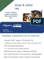 Voice Fundamentals Intermec Bucharest Oct 2011