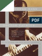 Doctor Faustus by Thomas Mann