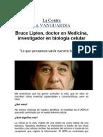 LA VANGUARDIA Entrevista a l Dr. Bruce Lipton