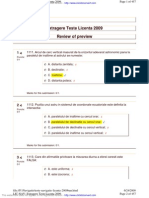 Teste Navigatie Licenta 2009bun