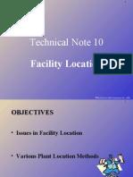 Chap06tn Facility Locations