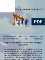 Analisis y Valuacion de Puestosnu