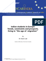 Indian Students in Europe