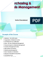 Purchasing & Material Management 1