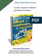 Come creare ebook e infoprodotti