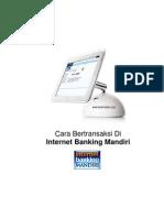 Buku Petunjuk Penggunaan Internet Banking