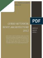 Curso Revit 2012 - Modulo Basico I
