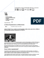 » A Cultura Organizacional e as Mídias Sociais