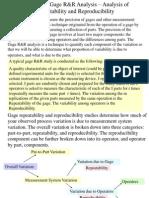 Module 13-Gage R&R Analysis