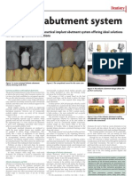 Atlantis Implant System November 1 Dentistry