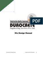 Concret Mix Design (M10 to M100)