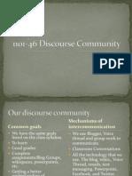 1101-46 Discourse Community