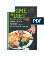Crime & Diet - The Macrobiotic Approach - Di Michio Kushi