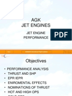 Jet Engine Performance