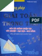 Phuong Phap Giai ToanTrongtam-Phanhuykhai-LTDH