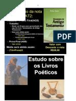 Livros poéticos e de Sabedoria