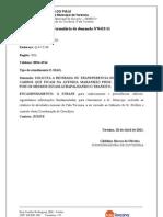 MODELO DE FORMULÁRIO DE DEMANDA