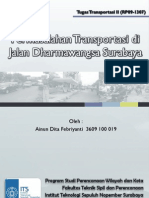 Permasalahan Tranportasi di Jalan Dharmawangsa Surabaya