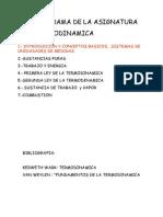 Clases de Termodinamica Cap1 Conceptos Basicos