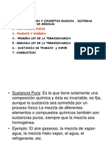 Clases de Termod.cap2 -3 Sust. Puras ,Gases Ideales,Trabajo y Calor