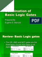 Combination of Basic Logic Gates