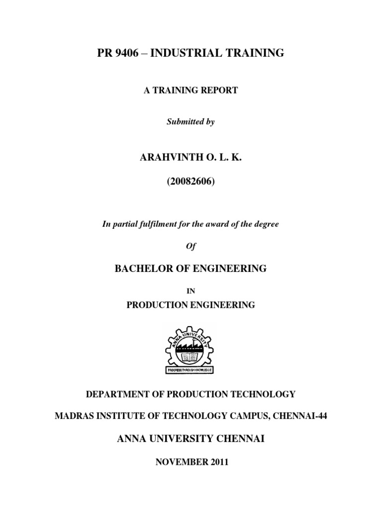 Industrial Report Final | Newspaper And Magazine | Tecnología