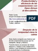 Productividad Con Open Atrium