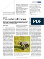 Barker, G. 2011. the Cost of Cultivation. Nature (473)163-164.