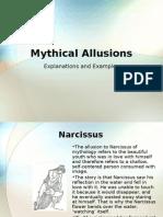 Mythical Allusions Presentation, Period 5