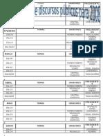 ProgramaÇÃo de Discursos pÚblicos Para 2008 Semestre 1
