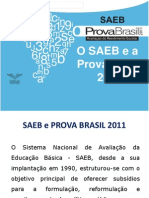 Treinamento SAEB e Prova Brasil