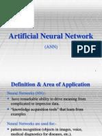 Artificial Neural Network (U)