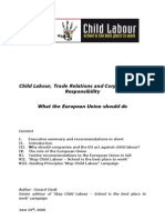 Child Labour CSR EU
