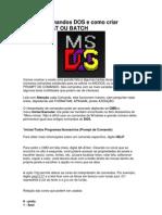 Lista de Comandos DOS
