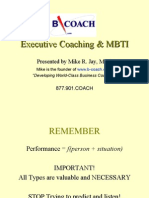 Executive Coaching MBTI