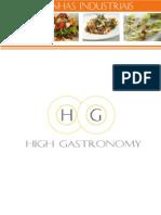 Terceirização de Cozinhas Industriais High Gastronomy