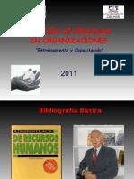 CAPACITACION 2011