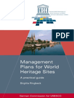 Management Plan for Wold Heritage Sites