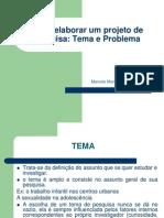 2P - Metodologia II - Como Elaborar Projeto de Pesquisa
