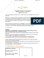 Fiches Outils Carto Processus
