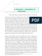 Rutter - Resiliencia psicosocial