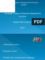 Atividade Física e sintomas Depressivos no Idoso 2011
