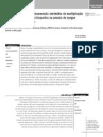 Aplicação da técnica de imunoensaio enzimático de multiplicação (EMIT)  para dosagem de ciclosporina na amostra de sangue absorvido em papel-filtro
